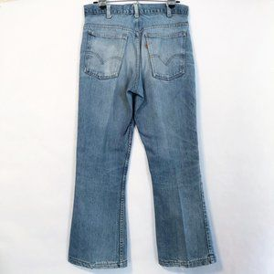 Vintage Levi's Rare Orange Tab Jeans High Rise 30